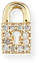 Sydney Evan Jewelry 14k Diamond Lock Single Stud Earring