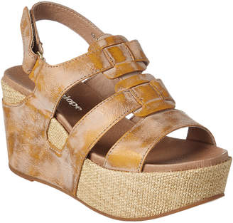 Antelope 876 Leather Wedge Sandal