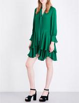 Alice + Olivia Alice & Olivia Moore silk dress