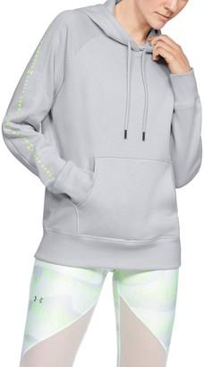 Under Armour Women's UA Rival Fleece Graphic Hoodie