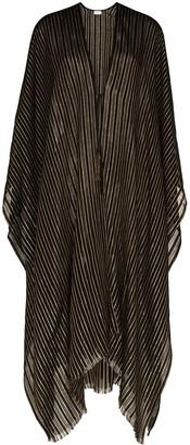 Saint Laurent Striped Poncho