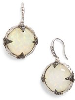Armenta Women's New World Opal & Diamond Drop Earrings