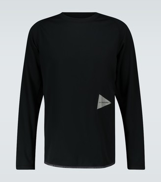 and wander Raglan sleeved T-shirt