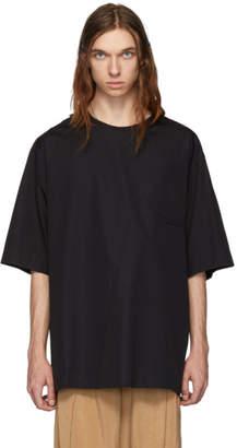 Lemaire Navy Cotton T-Shirt