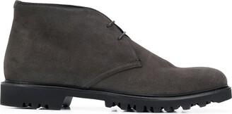 Giorgio Armani Suede Chukka Boots