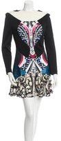Peter Pilotto Long Sleeve Printed Dress