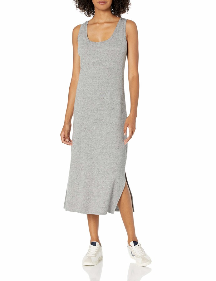 Daily Ritual Pima Cotton and Modal Interlock Tank Dress