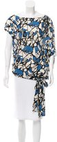 Robert Rodriguez Silk Print Top