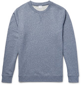 Sunspel - Mouline Loopback Cotton-jersey Sweatshirt