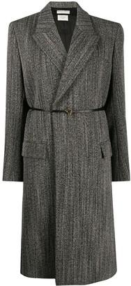 Bottega Veneta Structured Belted Coat