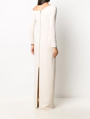Roland Mouret Off-The-Shoulder Dress