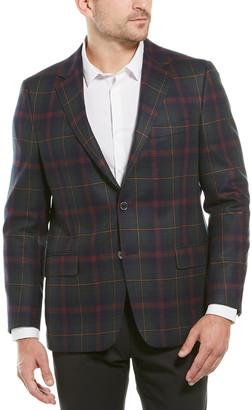 Hickey Freeman Milburn Ii Wool & Cashmere-Blend Sportscoat