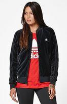 adidas x Pharrell Williams HU Race Velour Track Jacket