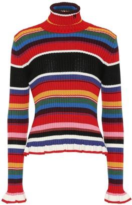 MSGM Ribbed turtleneck sweater