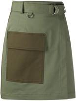 MSGM utility wrap skirt
