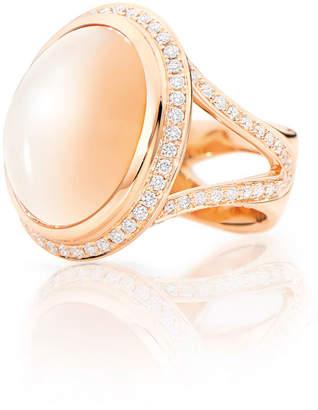 Tamara Comolli CUSHION 18k Rose Gold Large Sand Moonstone Ring