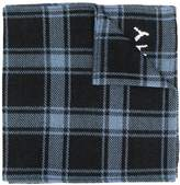 Givenchy checked winter scarf