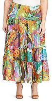 Lauren Ralph Lauren Plus Floral-Print Maxi Skirt