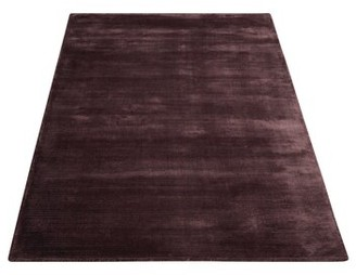 """Calvin Klein Lunar Hand-Knotted Luminescent Rib Amethyst Area Rug Rug Size: Rectangle 7'9"""" x 10'10"""""""