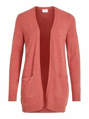 Vila Women's VIRIL L/S Open Knit Cardigan-NOOS Sweater