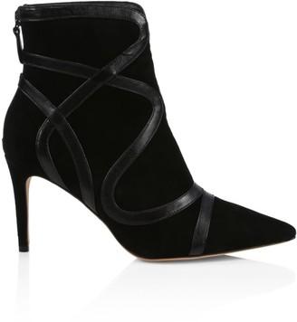 Alexandre Birman Jamie Suede & Leather Ankle Boots