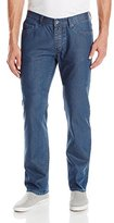 Matix Clothing Company Men's Gripper Blue 72 Denim Pant