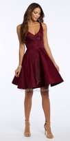 Camille La Vie Organza Fit And Flare Homecoming Dress