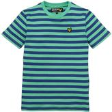Lyle & Scott Boys Micro Stripe Short Sleeve T-shirt