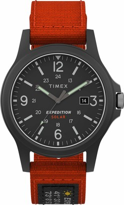 Timex Men's Expedition Acadia Solar 40mm Fabric Watch TW4B18800