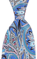 Daniel Cremieux Print Paisley Traditional Silk Tie
