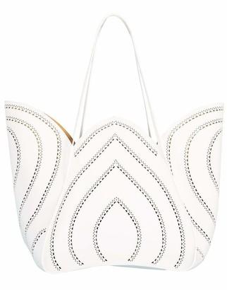 Alaia White Lili 24 Handbag