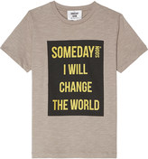Someday Soon Foil cotton T-shirt 4-14 years