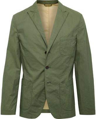 Incotex Slim-Fit Unstructured Stretch-Cotton Blazer