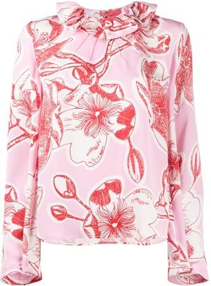 Stine Goya Poppy floral print blouse
