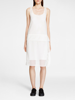 DKNY Grid Lace Dress