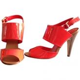BCBGMAXAZRIA Red Patent leather Sandals