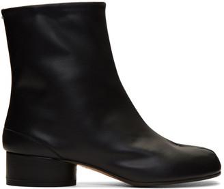Maison Margiela Black Low Heel Tabi Boots