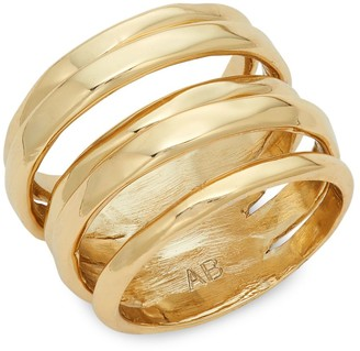 Alexis Bittar 10K Goldplated Ring
