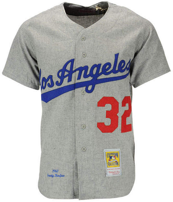 Mitchell & Ness Men's Sandy Koufax Los Angeles Dodgers Authentic Jersey