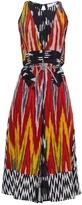 Altuzarra Parrot ikat-print silk midi dress