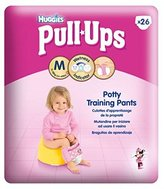 Huggies Pull-Ups® Girls Economy Pack Size 5 Potty Training Pants 1 X 26Pack - Pack of 2
