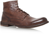 Officine Creative Plain Derby Lace Boot