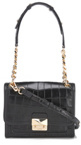 Karl Lagerfeld Women's K/Reptile Mini Handbag Black