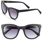 Derek Lam Women's 'Haley' 52Mm Sunglasses - Matte Black