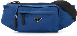 Prada Pre-Owned Triangular Logo Plaque Belt Bag
