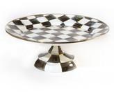 Mackenzie Childs MacKenzie-Childs Small Courtly Check Pedestal Platter