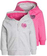 Mothercare LOOPBACK HOODY BABY 2 PACK Tracksuit top pink