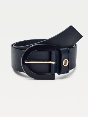Tommy Hilfiger Classics Leather High Waist Belt