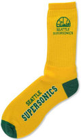 For Bare Feet Seattle SuperSonics Deuce Crew 504 Socks