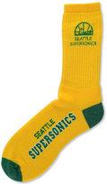 For Bare Feet Seattle SuperSonics Deuce Crew 504 Socks